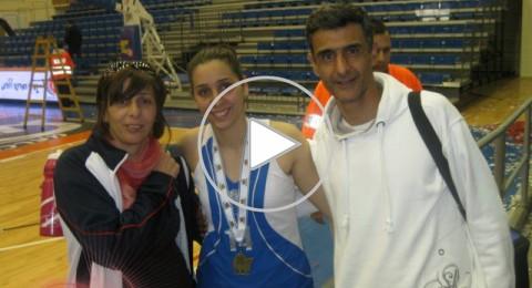 شهد عبود اصغر لاعبة بمنتخب اسرائيل لكرة السلة